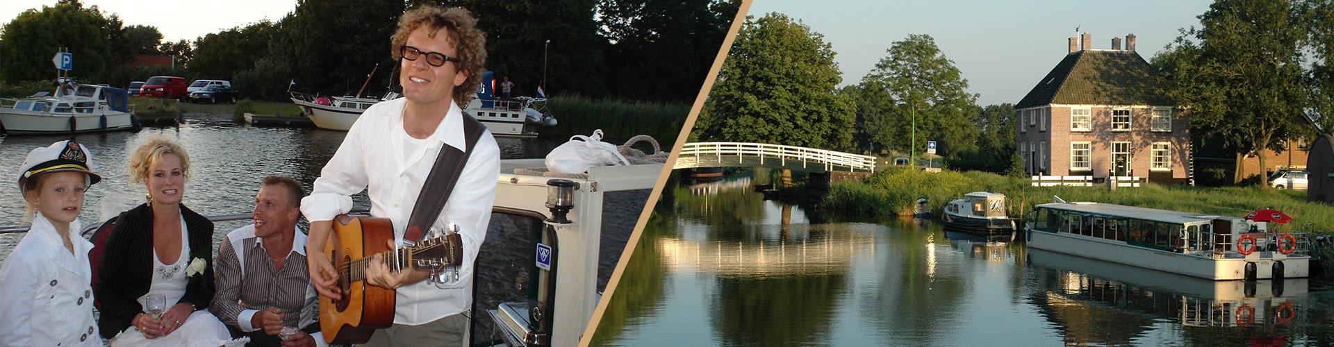 Dagje rondom Niedorp | Partyboot De Koperen Hoorn