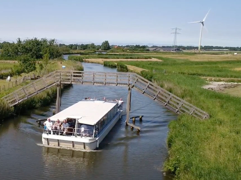 Varen in Noord-Holland | Partyboot De Koperen Hoorn