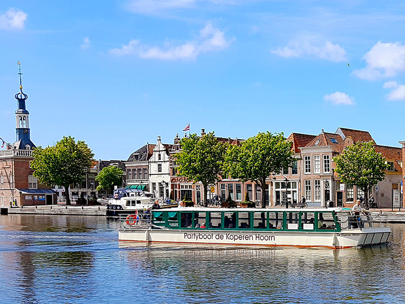 Partyboot De Koperen Hoorn bij Alkmaar