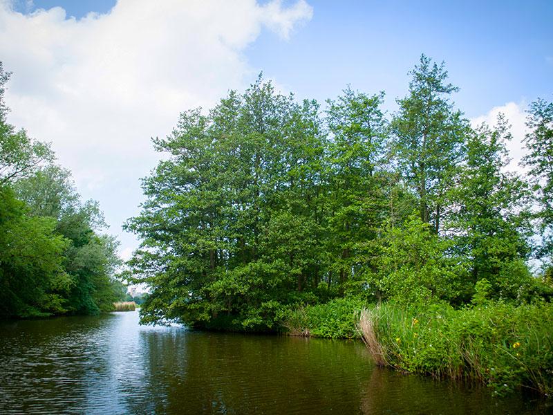 Partyboot De Koperen Hoorn bij Bomerwaal