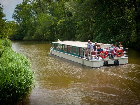 Partyboot De Koperen Hoorn bij het Verlaat