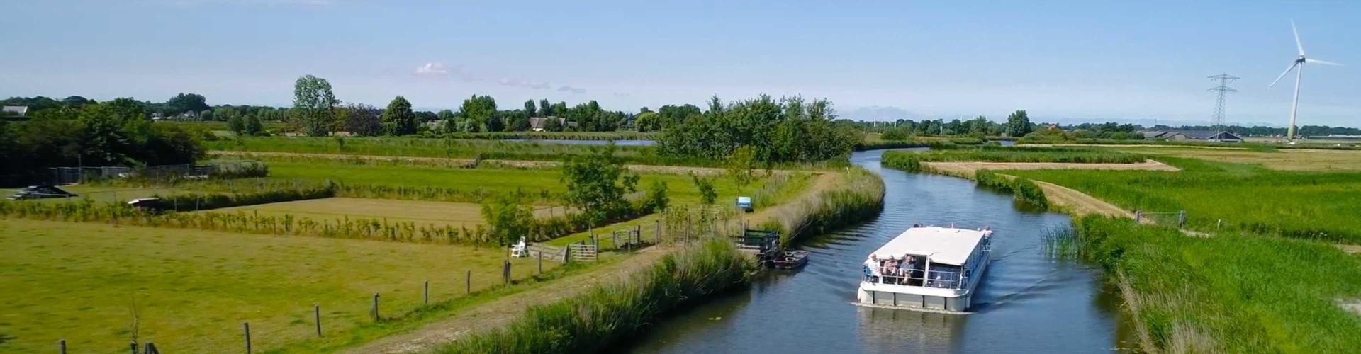 Varen door de polders | Paasbrunch-vaart