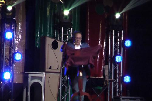 Ruim aanbod aan mogelijkheden voor het inhuren van een goocheloptreden op een podium zoals bijv.  een goochelshow of illusieshow