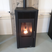 Royal pelletkachel Donna 8kw | Pelletkachelwarmte.nl