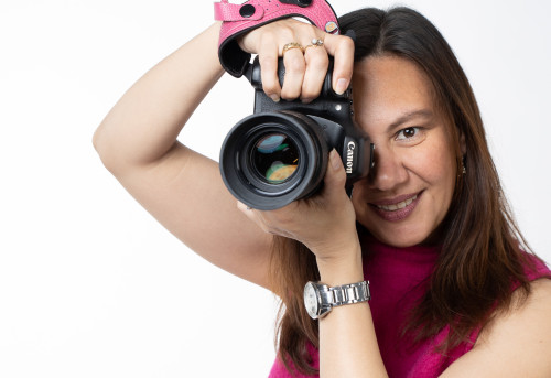 Perla camera canon portretfotograaf