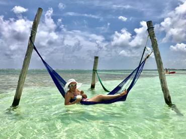Perla geniet van familievakantie zon en strand