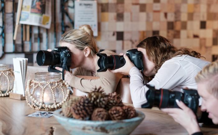 deelnemers workshop bruidsfotografie