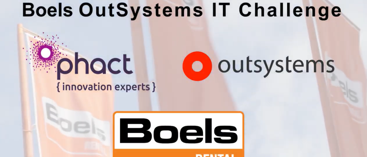 Throwback Thursday (TBT): Boels OutSystems IT Challenge met Phact