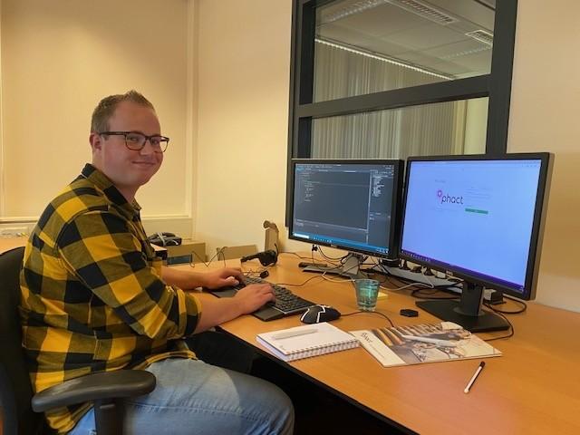 Daan Huinink software developer bij Phact