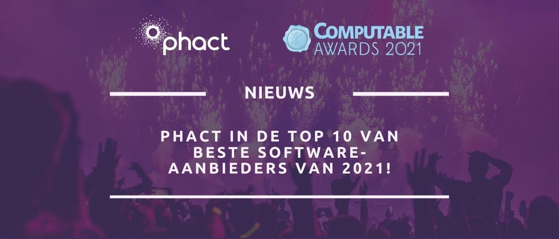 Phact in de top-10 van beste software-aanbieders van 2021!