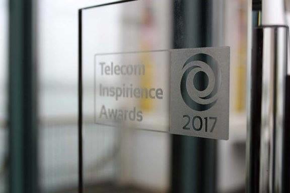 De Telecom Inspirience Awards 2017 Best IoT Project bokaal van Phact