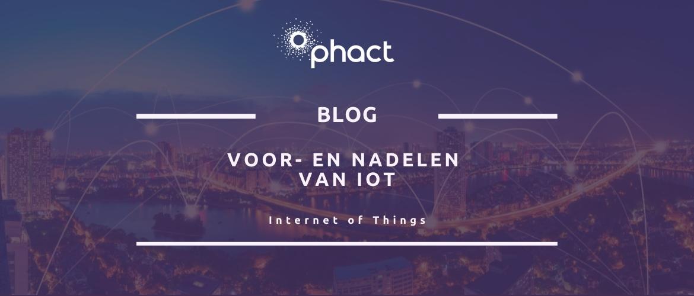 Voor- en nadelen van Internet of Things