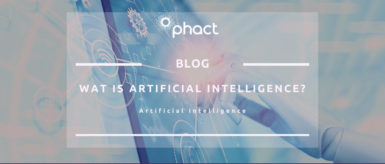 Wat is Artificial Intelligence?