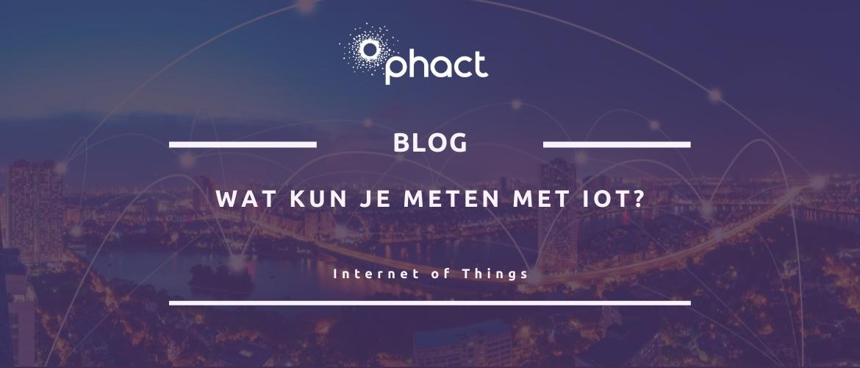 Wat kun je meten met IoT sensoren?