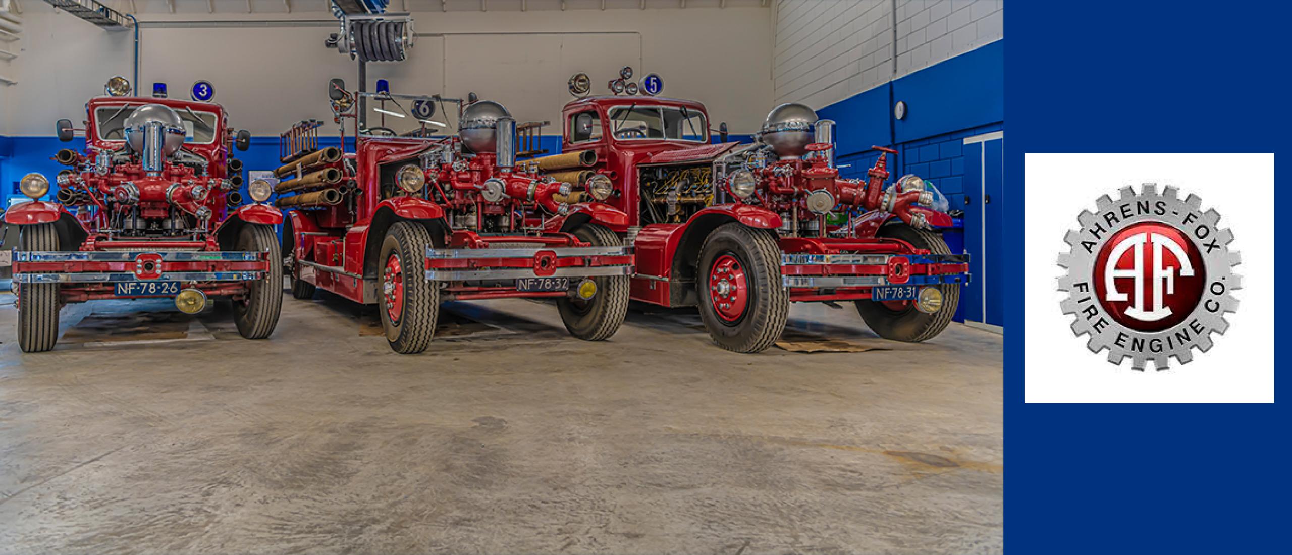 Ahrens Fox brandweerauto's