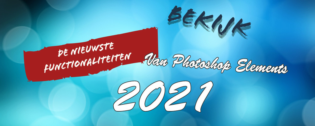 Nieuw in Photoshop Elements 2021