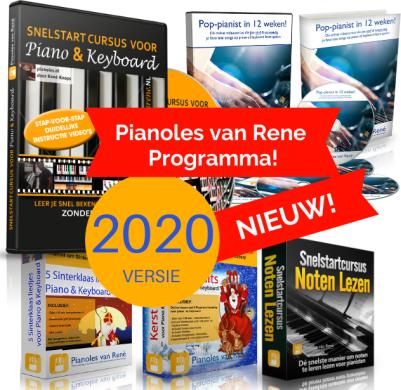 compleet pakket pianolessen