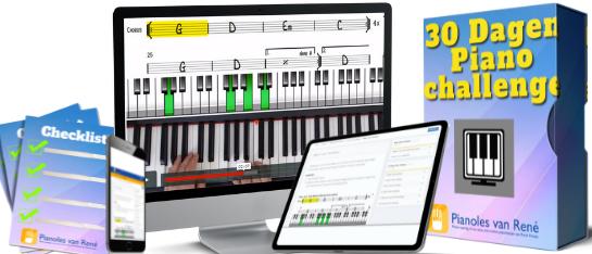 30 dagen Piano Challenge Cursus