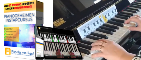 pianogeheimen instapcursus pianolesvanrene