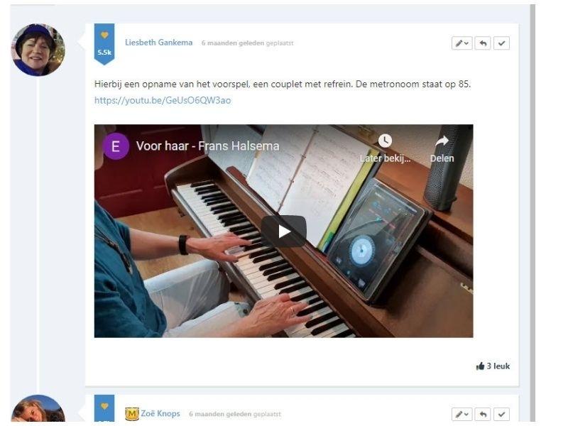 feedback forum pianoles van rene