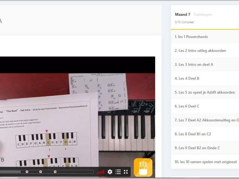 videopagina pop pianoles