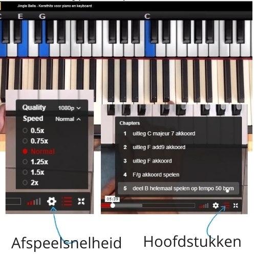 Online pianoles met Rene