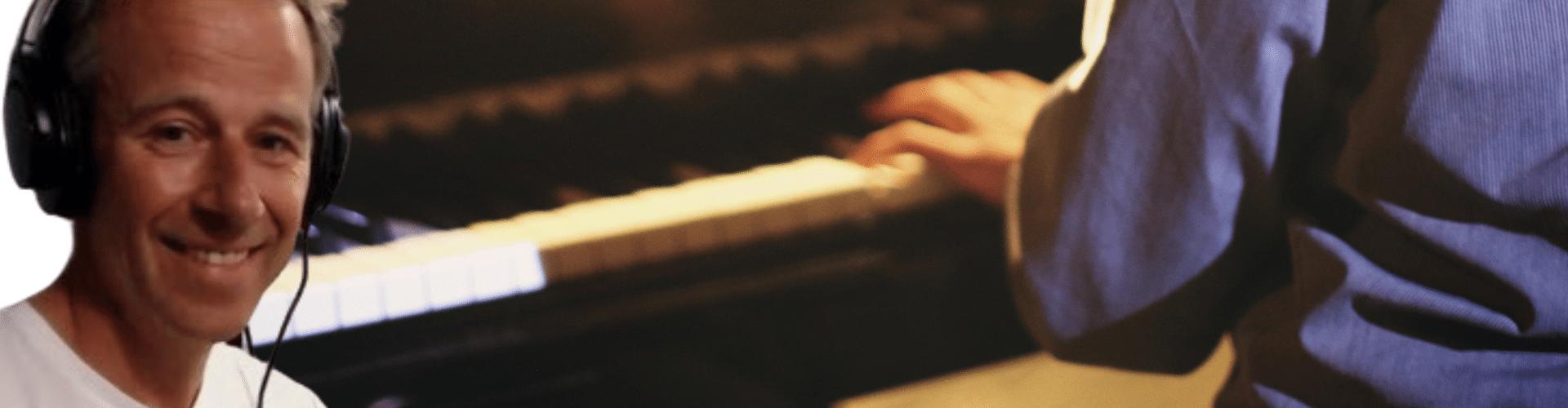 piano leren spelen met Rene