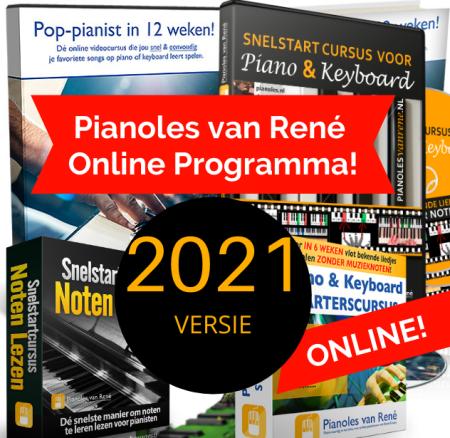 pianolesvanrene compleet lesprogramma 2021