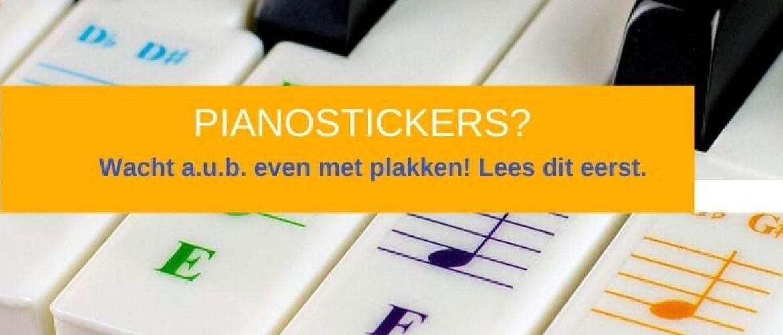 Piano stickers plakken? Aub niet doen!  Hier is waarom