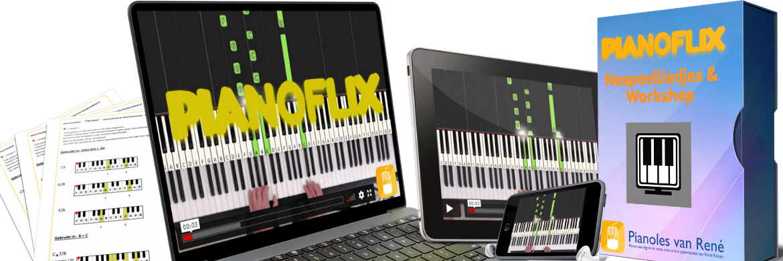 pianoflix naspeelliedjes