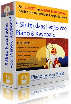 sinterklaasliedjes voor piano en keyboard