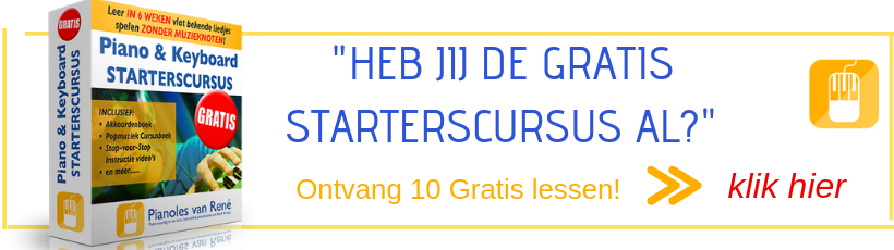 online pianoles 2020 starterscursus