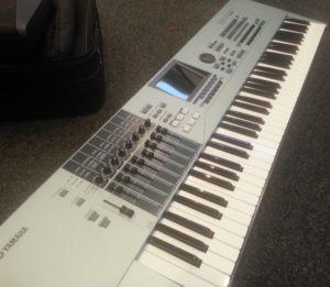 Yamha motif keyboard