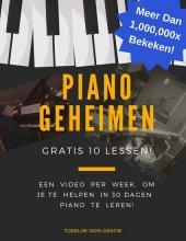 gratis pianoles