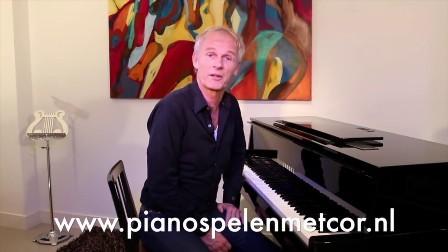 Pianist Cor Bakker