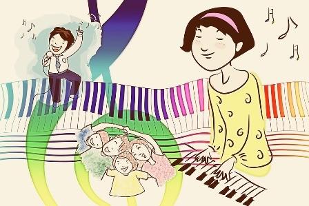 Keyboard spelen sociaal en goed voor brein