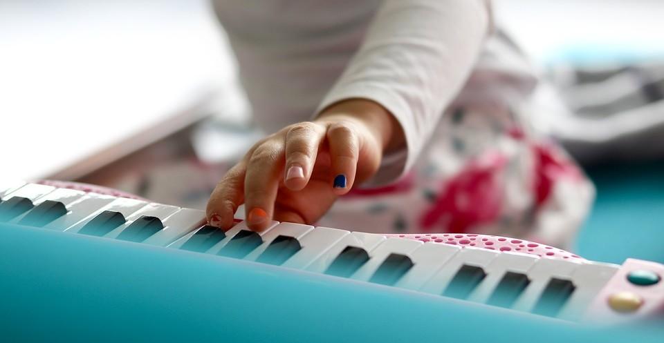kinderliedjes op keyboard