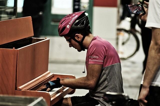 Tijd maken om piano te spelen
