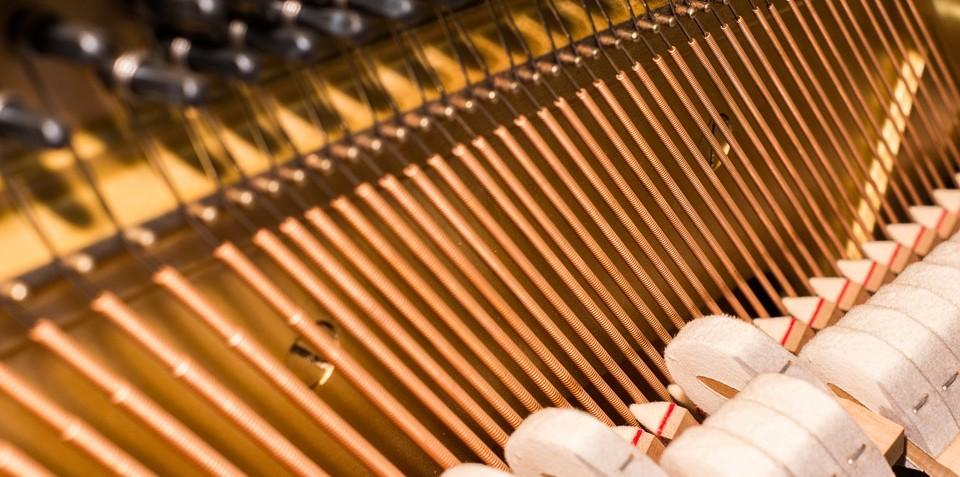 Onderdelen in piano