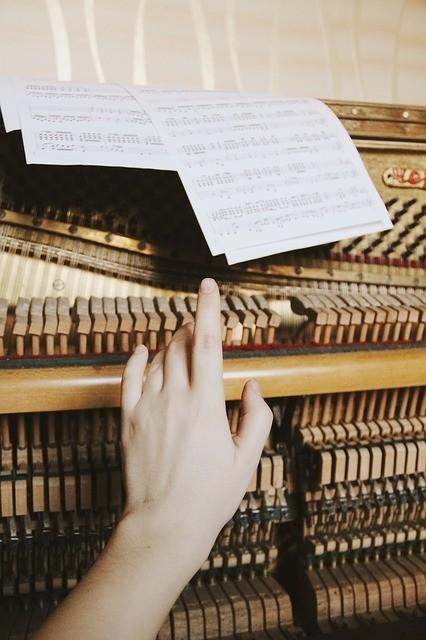 klanken pianosnaren