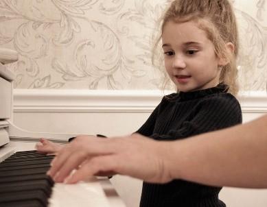 talent voor piano spelen
