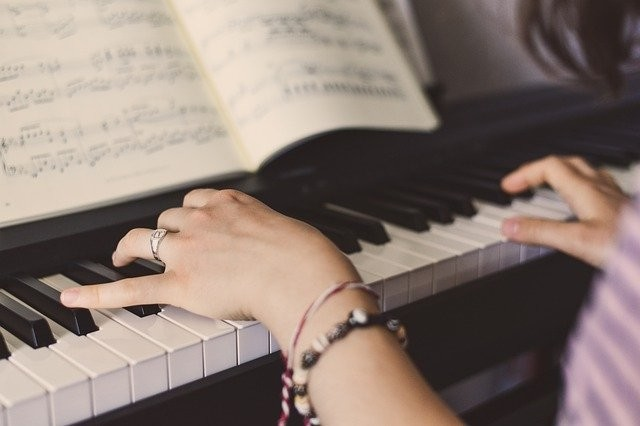 werking piano