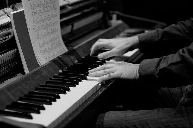 zo werkt een piano
