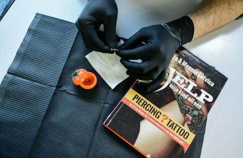 starterspakket piercien workshop