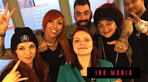 Ira heeft mensen LIVE gehypnotiseerd in de studio van INK Mania