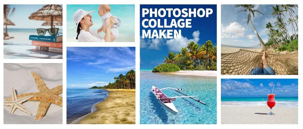 Een fotocollage in Photoshop maken