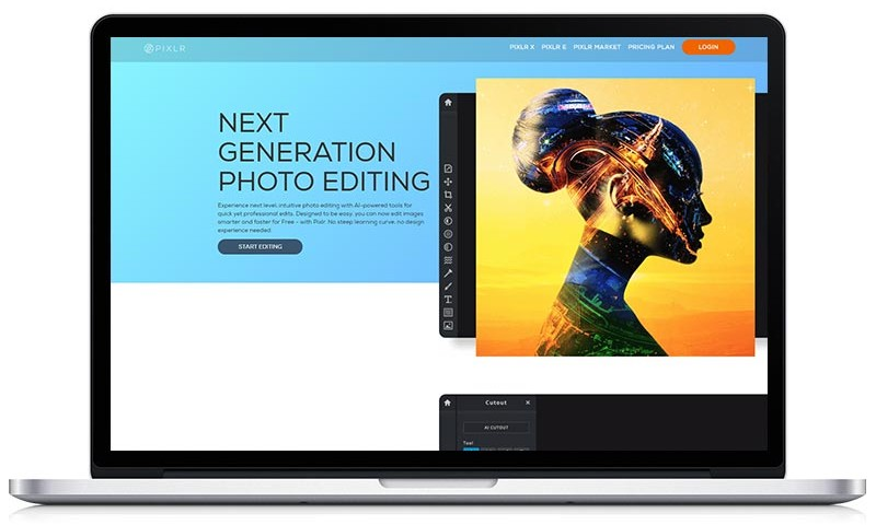 Fotobewerkingsprogramma's - pixlr