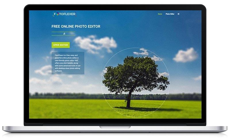 Fotobewerkingsprogramma's - fotoflexer