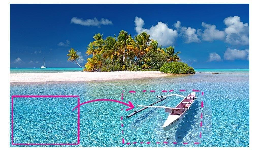 Foto herstellen in Photoshop? Zoek naar gebieden waar je informatie uit kunt lenen in Photoshop