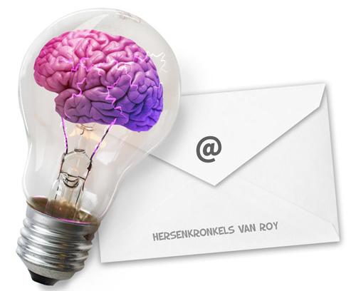 mijn hersenkronkels dagelijks in de mail
